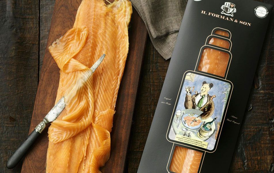 H. Forman & Son Smoked Salmon